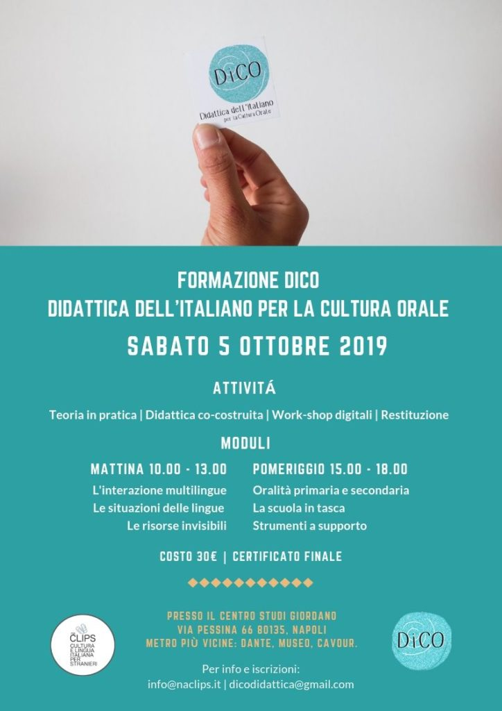 Formazione per insegnanti di italiano per stranieri